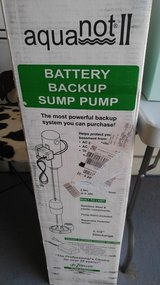 AquaNot II Battery Backup Sump Pump in Orland Park, Illinois