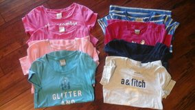 Lot of 8 Abercrombie Fitch Tshirts in Fort Bliss, Texas