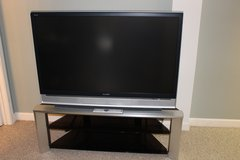"Sony 50"" SXRD TV and Stand in Bolingbrook, Illinois"