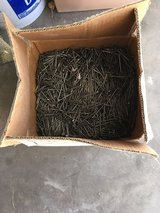 50 pound box of nails (appr 50% full) in Alamogordo, New Mexico