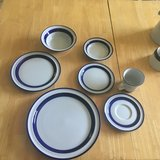 Noritake Fjord Stoneware 8place setting with some extras in Fort Bliss, Texas