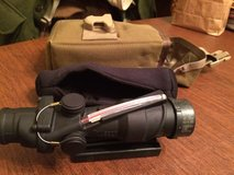 (New) Trijicon ACOG 4x32 Scope Rifle Combat Optic for M4, Shotgun, or any assault rifle. in Virginia Beach, Virginia