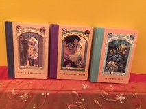 Lot of 3 books A Series Of Unfortunate Events in Yorkville, Illinois