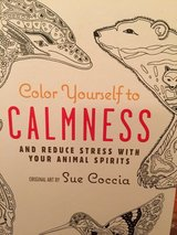 Color Yourself to Calmness: And reduce stress with these animal motifs (Adult Coloring Books) in Morris, Illinois