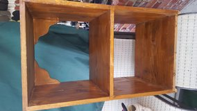 2 Shelf book stand solid wood in Fort Benning, Georgia