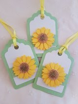 New Flower Gift Tags Handmade 8 Available in Ramstein, Germany