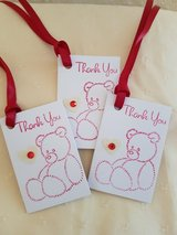 Folded Thank You Gift Tags Handmade 9 Available in Ramstein, Germany