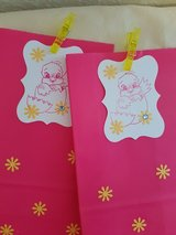 5 Easter Treat Bags With Tags Handmade in Ramstein, Germany
