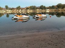 2014 Seadoo Jet Skis with tandem trailer in 29 Palms, California