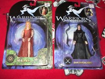 WARRIORS OF VIRTUE ACTION FIGURES (2) PICKUP in Byron, Georgia