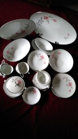 Vintage Noritake Rosemarie Fine China Dinnerware Japan # 6044 in Kingwood, Texas