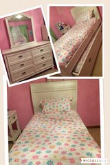 Twin White Bedroom Set for kids in Naperville, Illinois