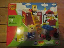 First Bricks Fire City. Compatible With Lego Duplo. 18 Months+. in Lakenheath, UK