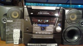 ( PRICE DROP !!! ) RCA Radio/CD/Cassette radio with remote and owners manual in Joliet, Illinois