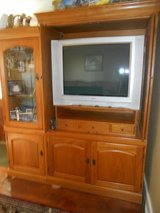 "36"" sony surround sound with cabinet. in Todd County, Kentucky"