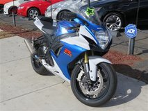 2013 Suzuki GSXR 750 in Fort Irwin, California