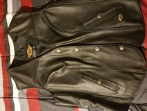 Leather womens harley davidson vest in 29 Palms, California