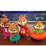 Alvin & Chipmunks Character Toys in Plainfield, Illinois