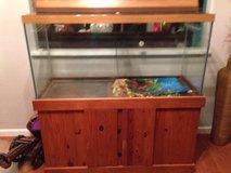90 gallon aquarium with stand in Schofield Barracks, Hawaii