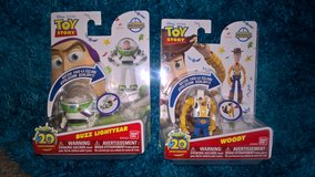 toy story buzz and woody hatch n heros new in Lakenheath, UK