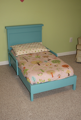 Wood kids toddler crib twin bed child children in Camp Lejeune, North Carolina
