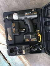 """Craftsman 15.6V 3/8"""" drill with case, spare battery and charger in Alamogordo, New Mexico"""