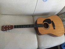 Schmidt acoustic guitar in good condition in Beaufort, South Carolina