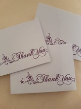 9 Small Thank You  Gift Cards Handmade in Ramstein, Germany
