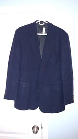 Haggar Navy Wool Blazer Size 44 in Warner Robins, Georgia