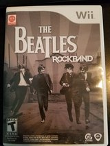 The Beatles Rock Band Wii game only (used) in Alamogordo, New Mexico