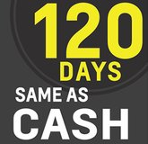 Now Offering 120 Days Same as Cash in Savannah, Georgia