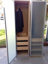 two-piece wardrobe (79 inches high) in Los Angeles, California