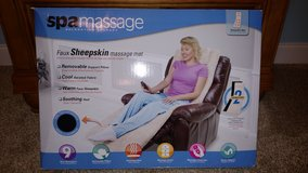 Spa Massage Faux Sheepskin Mat in Macon, Georgia
