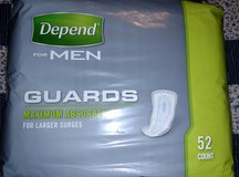 Depends for Men (Guards) in Macon, Georgia