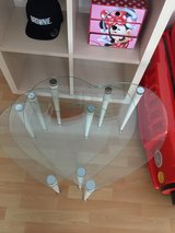 Tempered glass table set in Ramstein, Germany