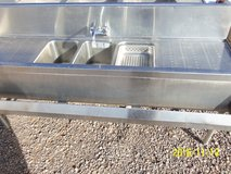 Commercial Stainless Steel Sink Small Size in Alamogordo, New Mexico