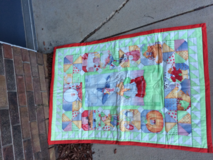 Mother goose baby quilt in Fort Carson, Colorado