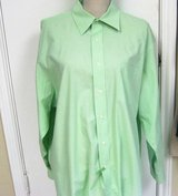 Covington Easy Care 17 XL Green 17 1/2 34/Dress Shirt Long Sleeve Button Up Suit in Kingwood, Texas