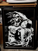Painting on Glass For sale by artist in Nellis AFB, Nevada