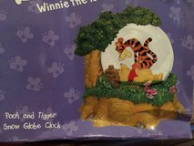 Disney Rumbly Tumbly Friends Poor and Tigger Snow Globe Clock in bookoo, US