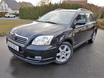 2005 TOYOTA AVENSIS D4D TURBO DIESEL * STATION WAGON*NEW INSPECTION in Spangdahlem, Germany