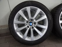 "Original BMW 18"" Winter Wheels with Dunlop Run Flat Winter Tires and Sensors in Ramstein, Germany"