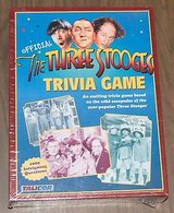 """The """"Official"""" Three Stooges Trivia Game By Talicor-NEW IN BOX in Bartlett, Illinois"""