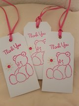 Large Thank You Gift Tags Handmade 10 Available in Ramstein, Germany