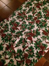 2 holiday tablecloths for German fest tables in Ramstein, Germany