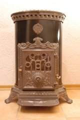 Godin - french wood stove in Ramstein, Germany