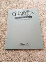 State series quarters 1999-2009 collectors map in Naperville, Illinois