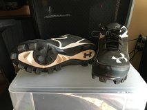 **Under Armour baseball cleats size 6Y..great shape** in Aurora, Illinois