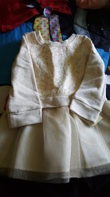 Shimmer n gold dress 18 mos. in Westmont, Illinois