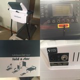 Brand new lifespan fold and stor treadmill in Batavia, Illinois